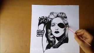 Charcoal Pencil Artwork / 2