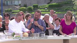 Recette : Filets De Carrelet À La Dieppoise