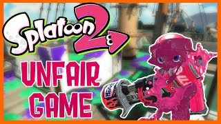 splatoon 2 the most unfair game【top 500 rank x】