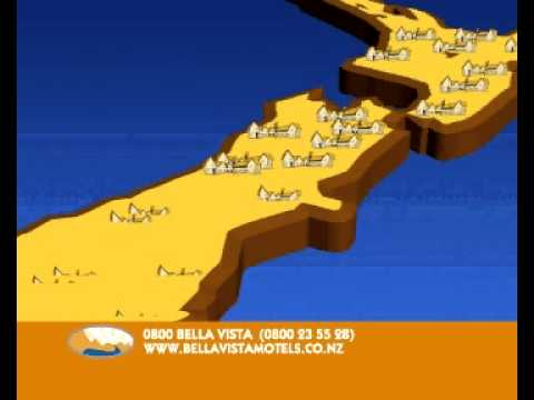 New Zealand Accommodation with the Bella Vista Motel Network