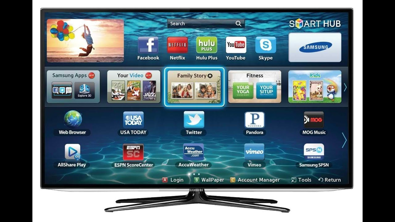download youtube app for panasonic smart tv