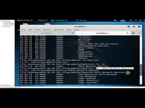 Hack The Box-Netmon - YouTube