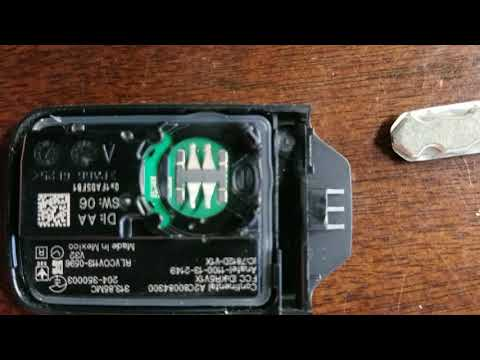 How to replace the battery 2015 Honda Odyssey Key Fob Remote
