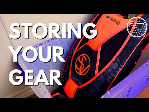 How To STORE Your SKYDIVING GEAR When Not Jumping