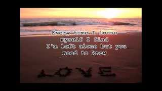 Joshua Radin-Cross That Line w/ Lyrics