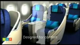 Malaysia Airlines First Class and Business Class seats