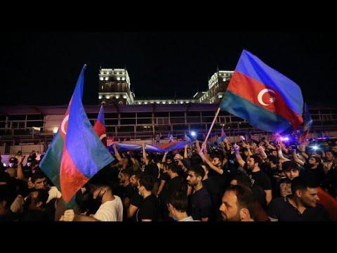 Ադրբեջանում նոր բողոքի ալիք է բարձրացել պատերազմը տանուլ տալու պատճառով  (Տեսանյութ)