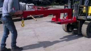 Кран балка для погрузчика Forker AR-15(, 2013-07-17T09:56:48.000Z)