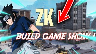 LIVE FORTNITE ZK BUILD GAME SHOW!