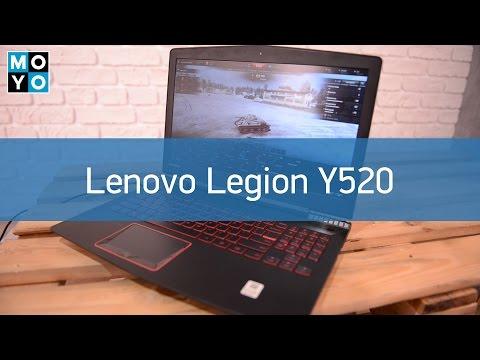 Обзор игрового ноутбука Lenovo Legion Y520