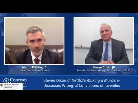 Steve Drizin Interview With The Dean Of Concord School Of Law