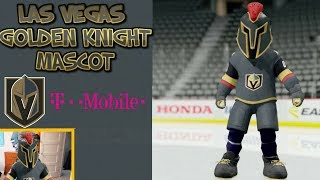 CREATING THE VEGAS GOLDEN KNIGHTS MASCOT IN NHL 18