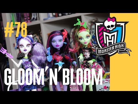 видео: Новые куклы Монстер Хай gloom and bloom (Глум энд блум) Школа Монстров монстер monster high