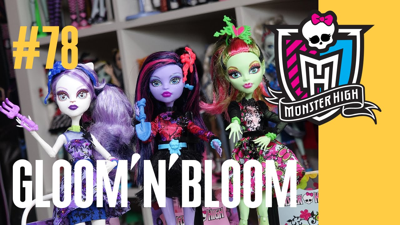 Купить куклу монстер хай клумба - YouTube