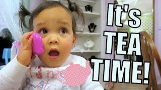 Mommy Daughter TEA PARTY! - April 15, 2016 -  ItsJudysLife Vlogs