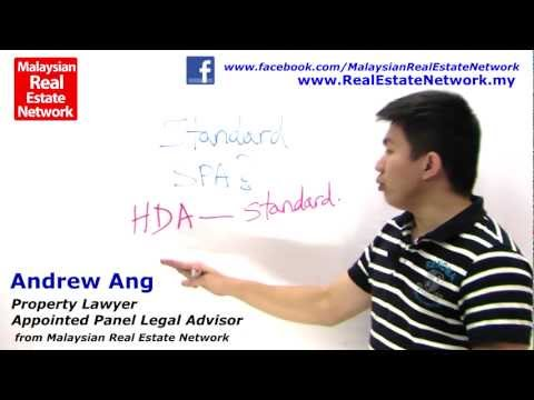 Property Investment Malaysia Legal Tips No 20 - Standard SPA?