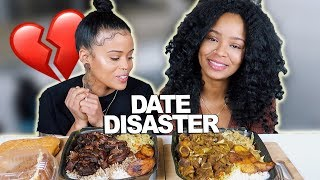 JAMAICAN OXTAILS AND CURRY GOAT MUKBANG + HORRIBLE 2019 VALENTINE'S DAY STORYTIME