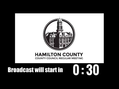 Hamilton County Council Regular Meeting Oct 4, 2017