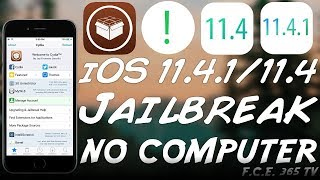 HOW TO JAILBREAK iOS 11.4.1 / 11.4 (With Cydia) NO COMPUTER