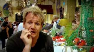 Gordon Ramsay Is Stunned by Farmed Caviar; Makes Lobster & Caviar Salad (Gone Wrong)