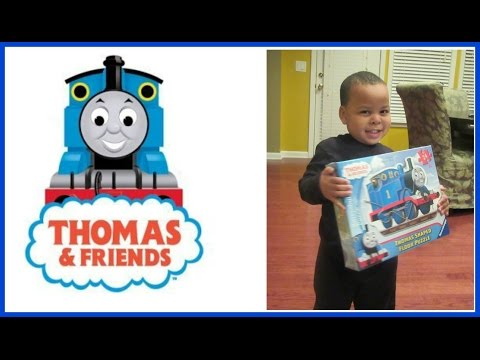 Family Fun At Toys R Us And Thomas The Train Puzzle