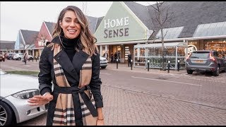 HUGE CHRISTMAS COME SHOPPING WITH ME TO THREE HOMESENSE STORES | Lydia Elise Millen