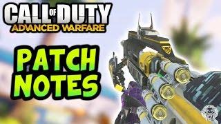 Advanced Warfare: NEW PATCH NOTES! Ohm Variants, Ascendance DLC, Gun Game, Spawns & More! (COD AW)