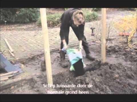 Instructiefilmpje aanplanten easy hedge
