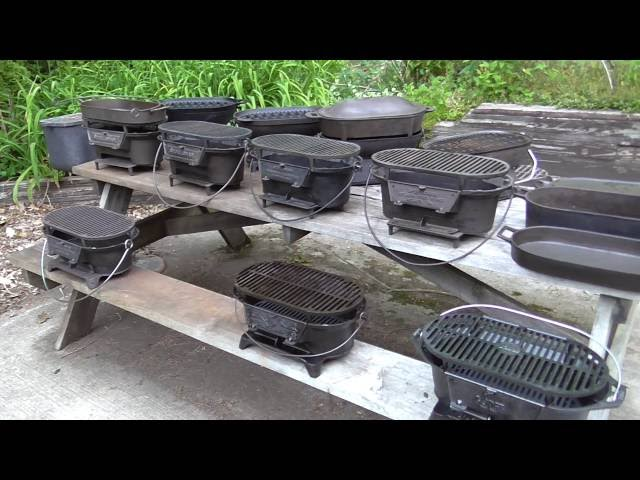 My cast iron hibachi grill collection - part 2
