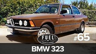 BMW 323 del 1977, la prova su strada