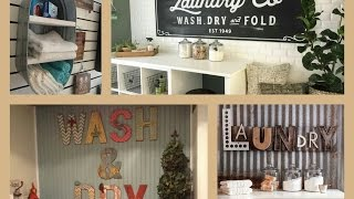 Laundry Room Decor Ideas   Diy Home Decorations