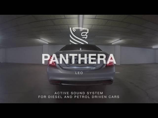 MercedesBenz S Class 500 ActiveSound Leo by Panthera Automotive
