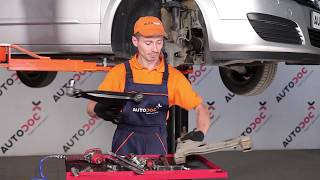How to replace front lower arm on OPEL ASTRA H TUTORIAL | AUTODOC