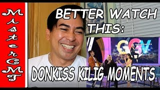 REACTION: DONKISS KILIG MOMENTS ON GGV - MY TOP PICKS