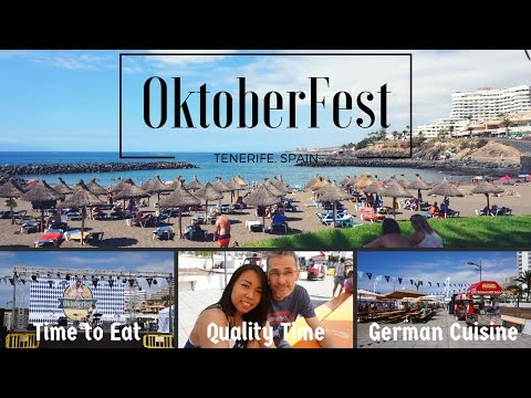 OKTOBERFEST IN TENERIFE | GERMAN CUISINE | PLAYA DEL BOBO // VLOG#17