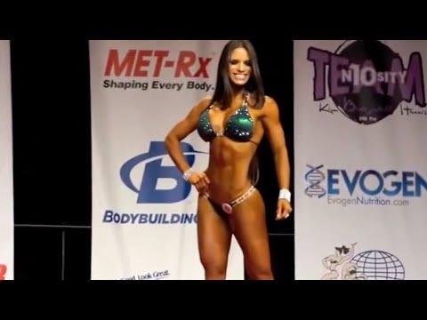 MICHELLE LEWIN Competition - IFBB Pro Bikini Legends Las Vegas Finals 2014