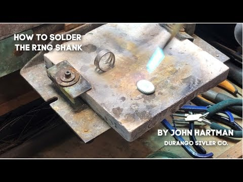 How To Make A Silver Ring - Final Processes - Jewelry DIY