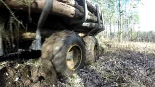 Zrywka drewna #1   (Ursus C360 i Palms 9S+670)
