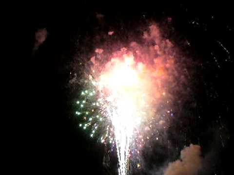 July 4th Fireworks in Brewster, WA  (finale)