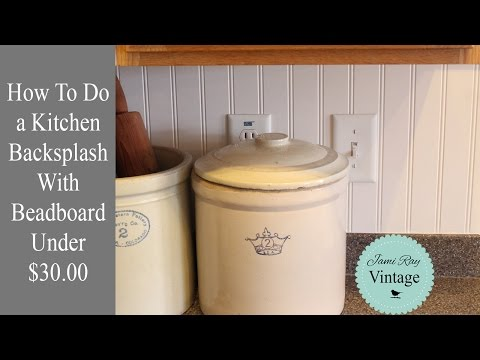 How To Do A Kitchen Backsplash With Beadboard Under $30<a href='/yt-w/f-s4x0zw2_o/how-to-do-a-kitchen-backsplash-with-beadboard-under-30.html' target='_blank' title='Play' onclick='reloadPage();'>   <span class='button' style='color: #fff'> Watch Video</a></span>