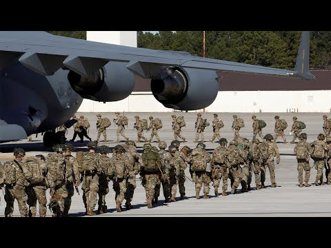 Hundreds of US troops deployed to Iraq after embassy attack