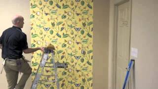 How To Hang Wallpaper by Mahones Wallpaper Shop