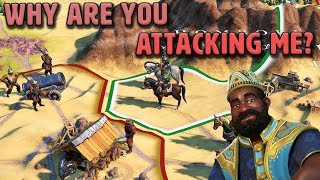 How Dare You Attack Me?! - Mali [#6] - Civilization VI Gathering Storm