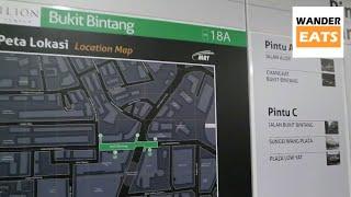 Walk: Bukit Bintang MRT Station to Pavilion Shopping Mall