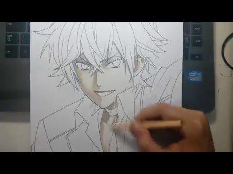 Speed Drawing - Sakamaki Ayato (Diabolik Lovers)