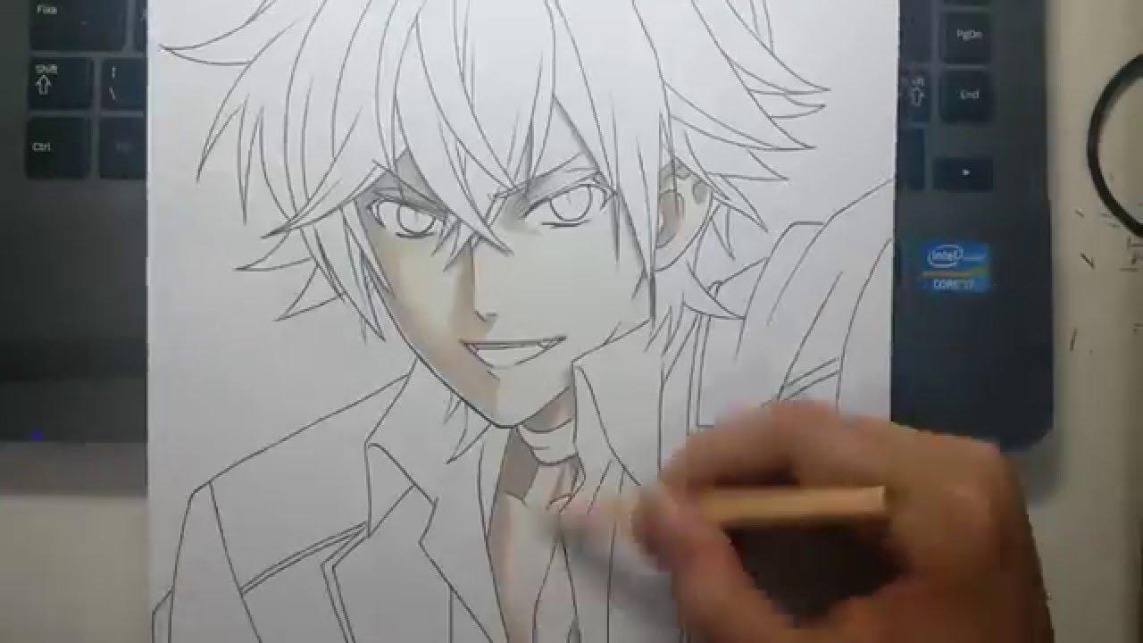 Speed drawing sakamaki ayato diabolik lovers youtube