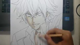 Speed Drawing - Sakamaki Ayato (Diabolik Lovers)
