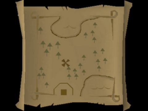Medium Clue Scroll Maps Osrs Medium clue scroll map location (trees, and x with a building  Medium Clue Scroll Maps