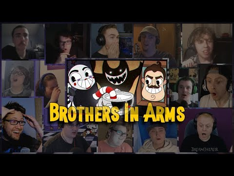 Brothers In Arms Song  DAGames Reaction Mashup