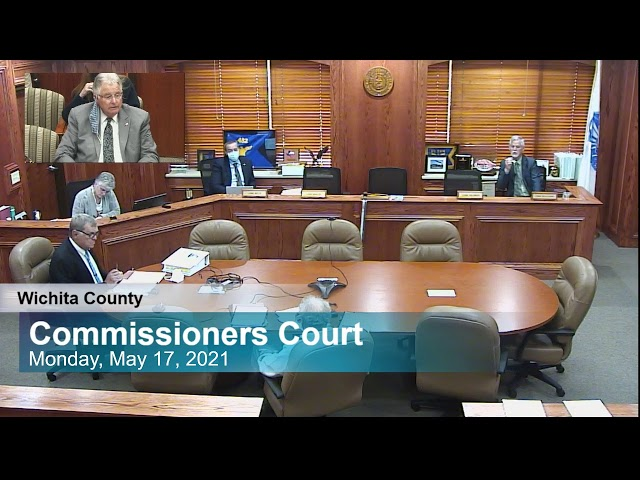 Commissioners Court 5/17/2021